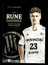 Rune Dahmke Autogrammkarte THW Kiel 2015-16 Original Handball + A165438