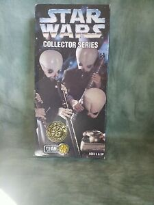 "1997 Kenner Star Wars Collector Series Cantina Band TEDN 12"" Action Figure NIB"
