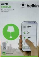 Belkin WeMo Wireless Home Switch Motion Or Schedule to Turn Electronics On/Off