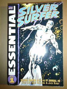ESSENTIAL SILVER SURFER Vol. 1 Marvel Comics 2001 tp tpb gn