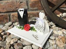Geldgeschenk zur Hochzeit Brautpaar Rose Rot Geschenk Hochzeitsgeschenk Wedding
