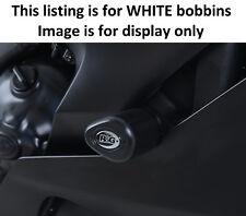 Yamaha YZF R6 2017 R&G Racing No Cut Aero Crash Protectors CP0432WH White
