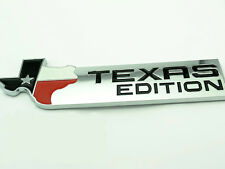 *  TEXAS EDITION SIDE WING CHROME BADGE EMBLEM 3D STICKER