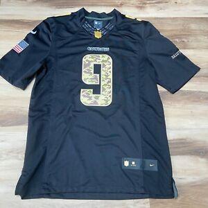 Tony Romo #9 Dallas Cowboys Sewn Salute to Service Nike NFL Player Jersey Medium