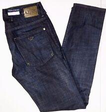 Armani Jeans extra slim fit dark wash denim size 31x34 comfort fabric style J10