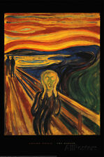 The Scream, c.1893 Poster Print by Edvard Munch, 24x36