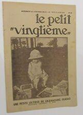 TINTIN HERGE LE PETIT VINGTIEME NO 34 1932 BON ETAT