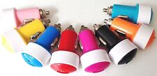 OVAL 2A CAR USB A/C LIGHTER CHARGER travel power charges FOR iphone 4 5 6 plus