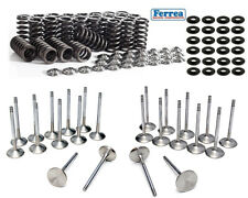 Ferrea Intake Exhaust Valves + Springs + Retainers + Locators For BMW S54B32 E46