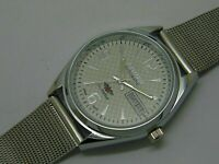 Citizen Automatic Men's Steel  Movement 8200 21Jewels Day Date Vintage Watch