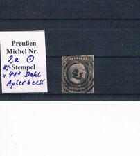 """Preußen, Mi. 2 a mit dem seltenen NS """"41"""" von Aplerbeck, s. Scan"""