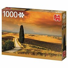 Tuscan Sunset Landscape in Italy 1000 Piece Jigsaw Jumbo Premium Puzzle 18362
