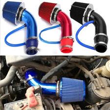 Air Flow Intake Kit Pipe Diameter 3''+Cold Air Intake Filter&Clamp Accessory Car