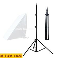 Light Umbrella Stand Adjustable 2m Studio Tripod 1/4 Screw Head Continuous Flash