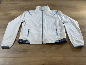 Skechers Women's Approach Full Zip Jacket White-Blue SZ S ( W01JA68 ) NWT!!!