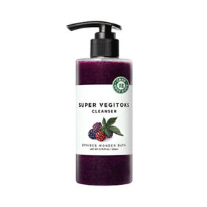 [WONDER BATH] Super Vegitoks Cleanser Purple 300ml / Korea Cosmetic