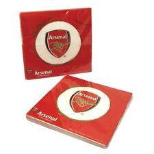 Arsenal FOOTBALL CLUB Stoviglie Festa Pacco 40 tovaglioli PIASTRE 32
