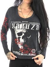Damen-T-Shirts mit Totenkopf Yakuza