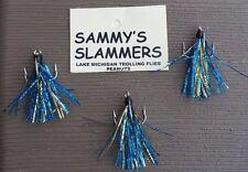 ** SALE ** Three (3) Trolling Peanut Flies For Salmon Trout **Sammys Slammers**