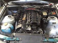 BMW E36 323i M52 170PS 2,5L Limousine Motor Engine mit Anbauteilen +Getriebe