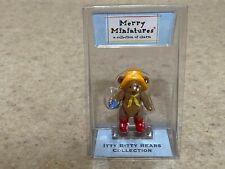 Hallmark Merry Miniatures - Raindrop - Itty Bitty Bears Collection Nip