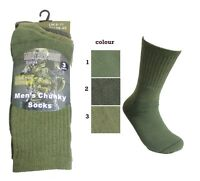 New Mens CHUNKY Thermal Outdoor Warm Work Military Boot Socks Size 6-11