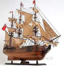 3 Foot Long H.M.S SURPRISE Wooden Handcrafted Model Ship