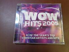 WOW Hits 2005 Various Christian Artists (CD, 2 Discs) Toby Mac MercyMe etc