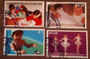 RARE 2006 Kosovo Full Set Of 4 Stamps - Children Of Kosovo - PC/NH £10