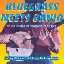 Various Artists- Bluegrass Meets Banjo (Jasmine 3529 NEW CD)