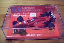 1/43 Michael Schumacher NR 30 FERRARI 1996 F310 prima vincere con FERRARI GP SPAGNA