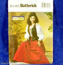 Butterick Costume 4483 Renaissance Revival Pattern 6-12