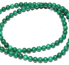Green Turquoise 6mm Round Magnesite Gemstone Beads 16""
