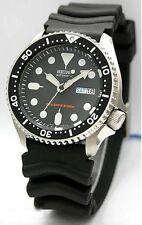 Seiko SKX007K Men's Automatic Rubber Strap Black Dial Watch