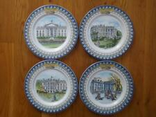 4 Tiffany & Co. White House Bicentennial Salad Dessert Plates Mint Condition