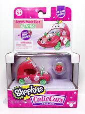 Shopkins Cutie Cars QT4-06 Speedy Apple Slice Series 4 New