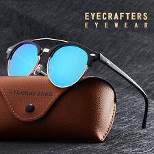 Double Bridge Designer Eyewear Retro Mens Womens Polarized Sunglasses Outdoor UK