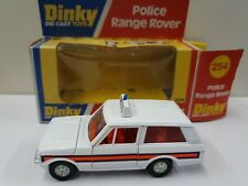 Dinky 254 Police Patrol Range Rover In Good Condition