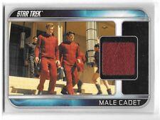 2009 Star Trek Male Cadet Movie Relic Memorabilia Card CC10