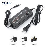 AC To DC Switching Power Supply Voltage Adjustable Adapter 3-12V/9-24V/24-36V 0