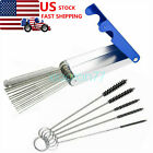 Carb Jet Cleaning Tools Set Carburetor Wire Cleaner Kit For Motorcycle ATV Parts