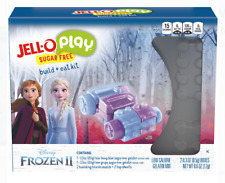 American Snack- JELL-O Play Frozen 2 Magical Adventure Sugar Free Build+Eat Kit