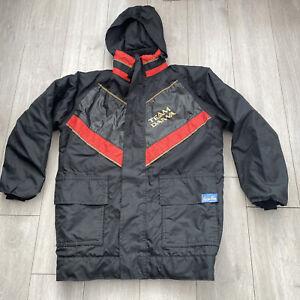 Team Daiwa Waterproof Fishing Jacket Coat Size Medium/Large Halkon Hunt Angling