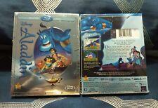 Aladdin (Blu-ray +DVD,2015  Diamond Edition No Digital Copy *Brand New*