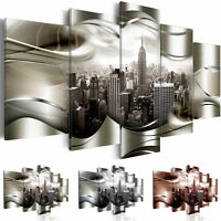 Non-woven Canvas Print New York Framed Wall Art Picure Photo Image d-A-0032-b-n
