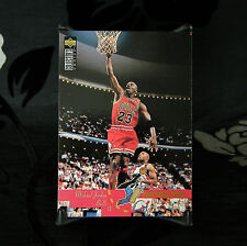 MICHAEL JORDAN Upper Deck COLLECTOR'S CHOICE 1995 carte #195 NBA Basketball Comme neuf