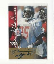 1997 SP Authentic Sign of the Times Reidel Anthony AUTOGRAPH Buccaneers
