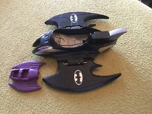 Rare Batman Returns Laser Blade Cycle Converts To Fighter Jet Kenner 1992