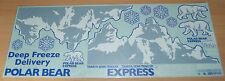 Tamiya 56319 3 Axle Reefer Trailer, 9495540/19495540 Decals/Stickers, NIP