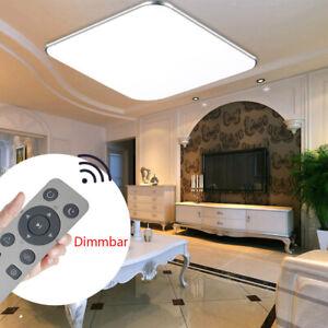 36W LED Deckenleuchte Badleuchte Deckenlampe Dimmbar Lampe Licht Fernbedienung